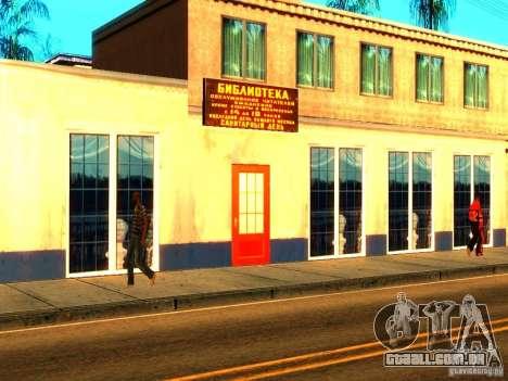 Novas texturas de Los Santos para GTA San Andreas sexta tela
