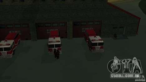 Estação de fogo de avivamento em San Fierro v 2. para GTA San Andreas quinto tela