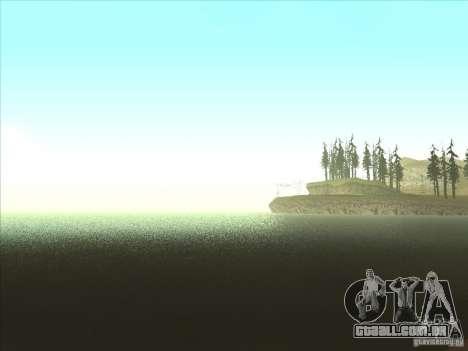 ENBSeries v1.0 para GTA San Andreas quinto tela