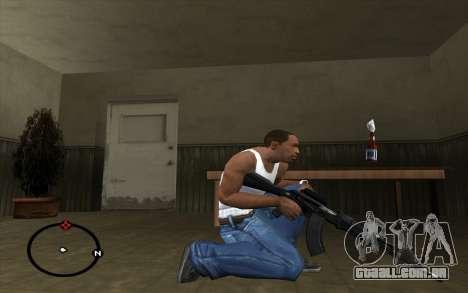 AK-103 para GTA San Andreas terceira tela