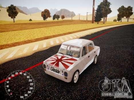 Vaz-2101 Drift Edition para GTA 4 esquerda vista