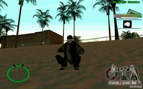 Bomje & Gop para GTA San Andreas quinto tela