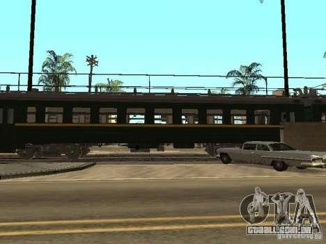 ÈR2R-7750 para GTA San Andreas vista direita