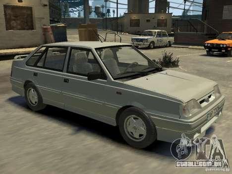 FSO Polonez Atu para GTA 4 interior