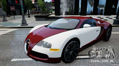 Bugatti Veyron 16.4 v1.0 wheel 1 para GTA 4