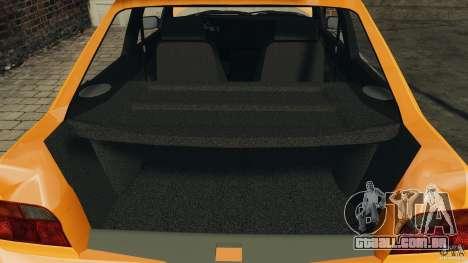 Ford Escort L 1994 Custom para GTA 4 vista superior