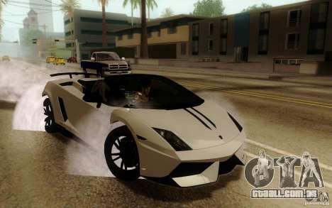 ENBSeries By Eralhan para GTA San Andreas por diante tela