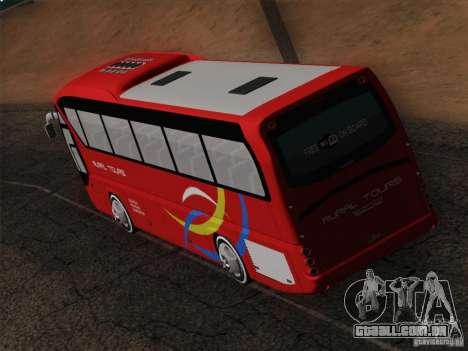 Neoplan Tourliner. Rural Tours 1502 para GTA San Andreas interior