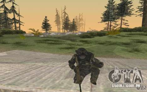 Seals soldier from BO2 para GTA San Andreas terceira tela