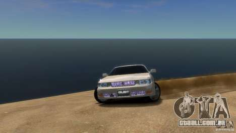 Toyota Chaser x90 para GTA 4 vista direita
