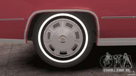 Cadillac Eldorado 1968 para GTA 4 interior