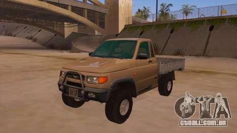 UAZ-2360 para GTA San Andreas interior