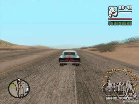Clássico velocímetro para GTA San Andreas