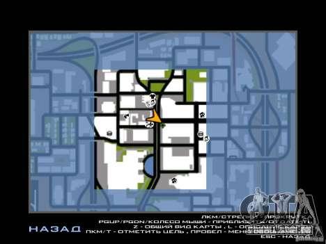 Club para GTA San Andreas quinto tela