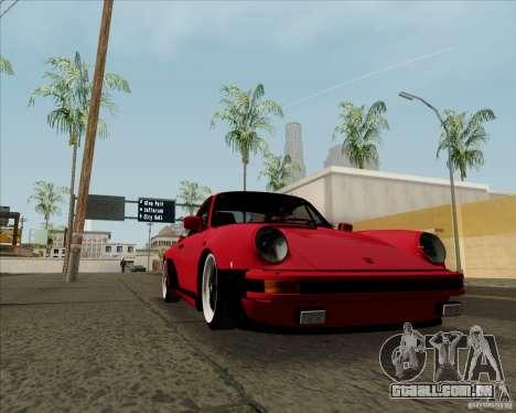 Porsche 911 Turbo para GTA San Andreas vista direita