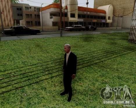 Morgan Freeman para GTA San Andreas segunda tela