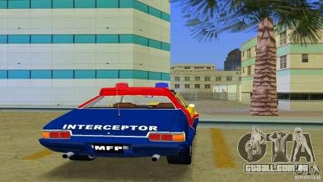 Ford Falcon 351 GT Interceptor para GTA Vice City vista traseira