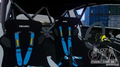 Ford Fiesta Rallycross para GTA 4 esquerda vista