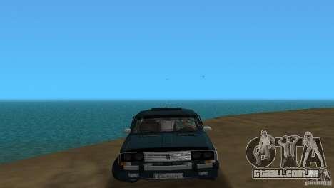 VAZ 2106 para GTA Vice City deixou vista