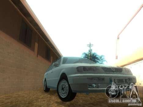 Volkswagen Passat B4 Variant para GTA San Andreas vista traseira
