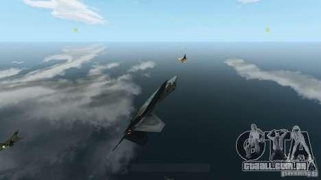 Air Combat IV para GTA 4 quinto tela