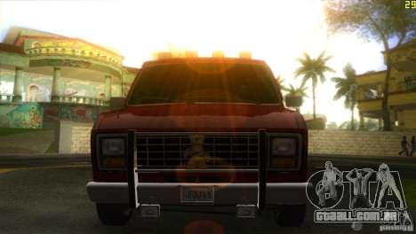 Ford E-150 Gang Burrito para GTA Vice City vista traseira esquerda