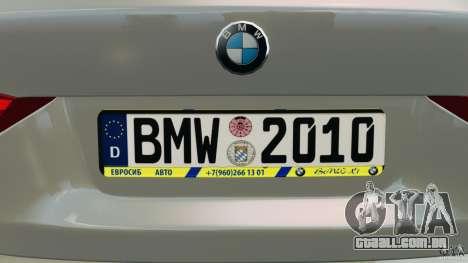 BMW X1 para GTA 4 interior