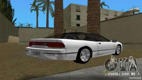Nissan 200SX para GTA Vice City vista traseira esquerda