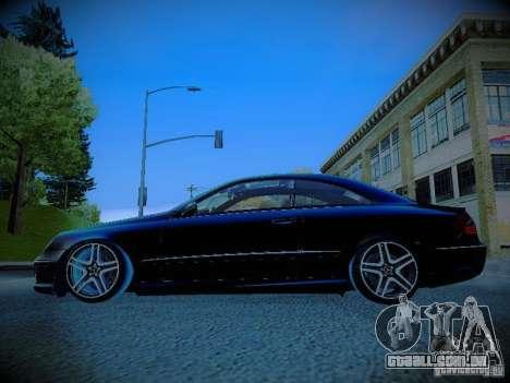 Mercedes-Benz CLK 55 AMG Coupe para GTA San Andreas esquerda vista