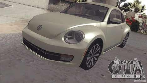 Volkswagen Beetle Turbo 2012 para GTA San Andreas
