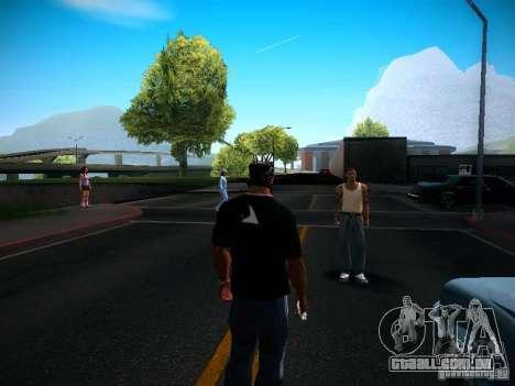 Alterar caracteres para GTA San Andreas por diante tela