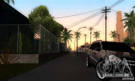 Mercedes-Benz GL 500 para GTA San Andreas vista direita