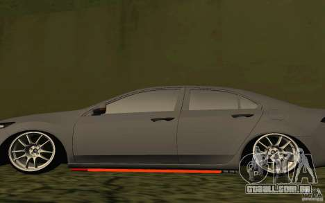 Honda Accord para vista lateral GTA San Andreas