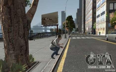 Desmond Miles de AC3 para GTA 4 por diante tela