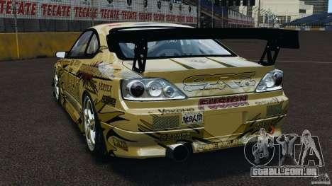 Nissan Silvia S15 D1GP TOP SECRET para GTA 4 traseira esquerda vista