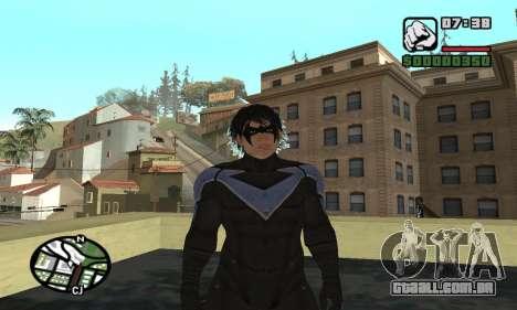 Nightwing skin para GTA San Andreas