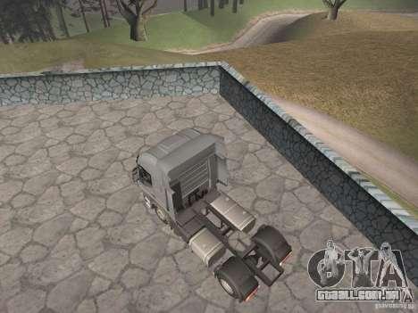 Iveco Stralis GTS para GTA San Andreas esquerda vista
