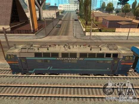 Chs4t-550 para GTA San Andreas traseira esquerda vista