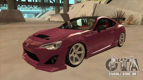 Toyota GT86 Drift 2013 para GTA San Andreas