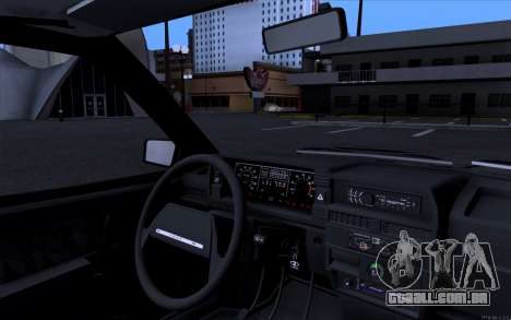 VAZ 21099 estilo Vip para GTA San Andreas traseira esquerda vista
