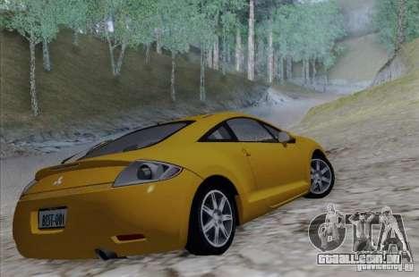 Mitsubishi Eclipse GT V6 para GTA San Andreas esquerda vista