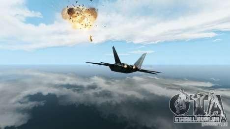 Air Combat IV para GTA 4 por diante tela