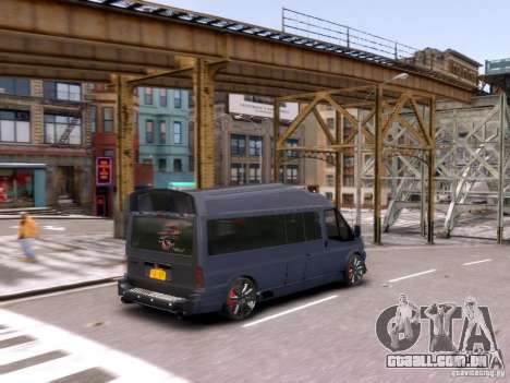 Ford Transit Sport Edition RV 2013 para GTA 4 vista lateral