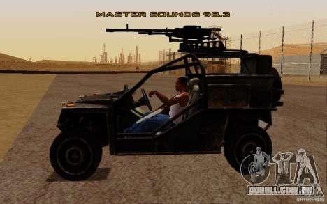 Buggy VDV de Battlefield 3 para GTA San Andreas vista direita