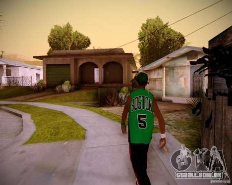 Skins pack gang Grove para GTA San Andreas segunda tela