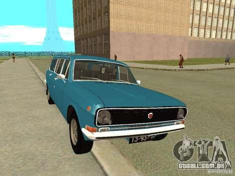 Volga GAZ 24-12 para GTA San Andreas