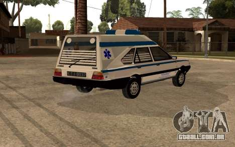 FSO Polonez Cargo MR94 Ambulance para GTA San Andreas
