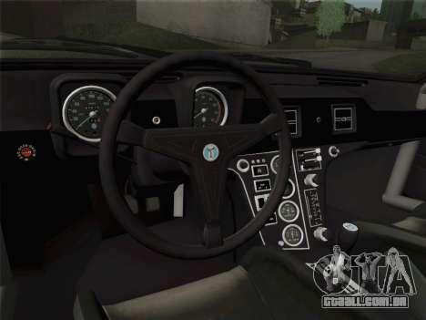 De Tomaso Pantera GT4 para as rodas de GTA San Andreas