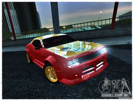 Dodge Challenger Calibri-Ace para GTA San Andreas