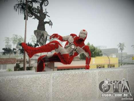 Iron Man 3 Mark V para GTA San Andreas